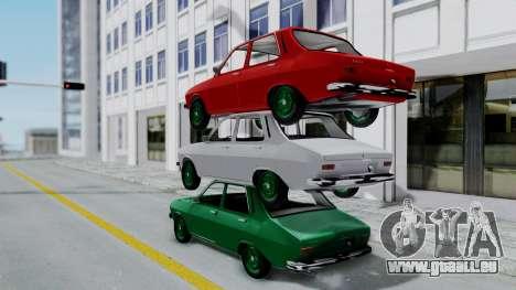 Dacia 1300 pour GTA San Andreas laissé vue