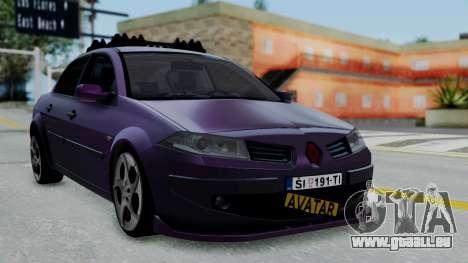 Renault Megane II für GTA San Andreas
