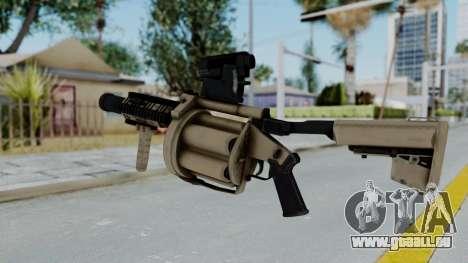 Arma OA Grenade Launcher pour GTA San Andreas deuxième écran