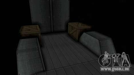 Brute Boxville Laboratorios Humane pour GTA San Andreas vue arrière