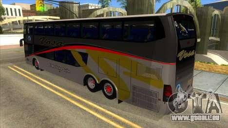 Troyano Calixto IV Vosa 3021 pour GTA San Andreas sur la vue arrière gauche
