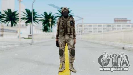 Crysis 2 US Soldier 7 Bodygroup A pour GTA San Andreas deuxième écran