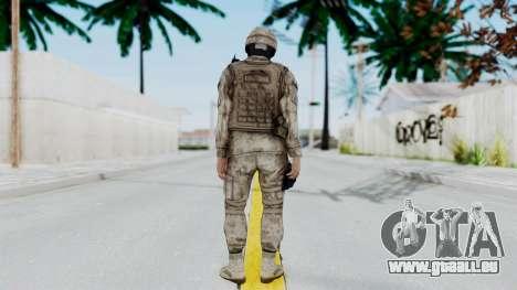 Crysis 2 US Soldier 7 Bodygroup A pour GTA San Andreas troisième écran