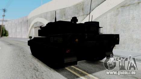 Point Blank Black Panther Woodland für GTA San Andreas rechten Ansicht