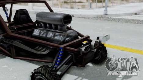 Augmented Blade für GTA San Andreas rechten Ansicht