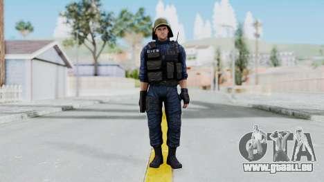 GIGN 2 No Mask from CSO2 für GTA San Andreas zweiten Screenshot