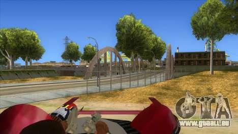 StarWars Anakin Podracer für GTA San Andreas Innenansicht