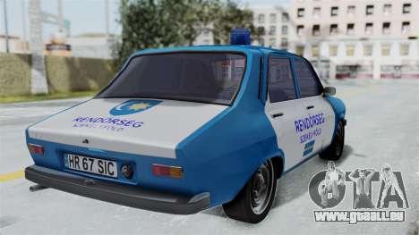 Dacia 1300 Police für GTA San Andreas linke Ansicht