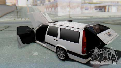 Volvo 850R 1997 Tunable pour GTA San Andreas vue de dessus