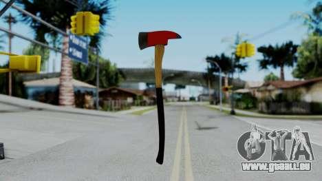 No More Room in Hell - Fire Axe für GTA San Andreas dritten Screenshot