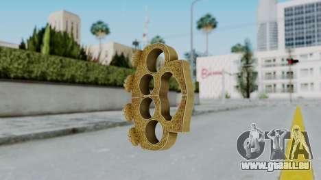 The Hater Knuckle Dusters from Ill GG Part 2 pour GTA San Andreas deuxième écran