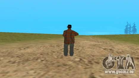 Skin FAM3 pour GTA San Andreas deuxième écran