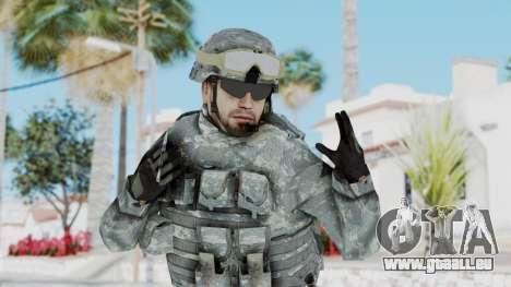 Acu Soldier 1 pour GTA San Andreas