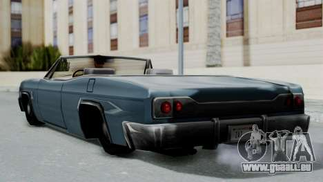 Blade Beach Bug für GTA San Andreas rechten Ansicht