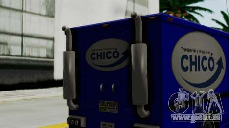 Chevrolet C30 Furgon Stylo Colombia pour GTA San Andreas sur la vue arrière gauche