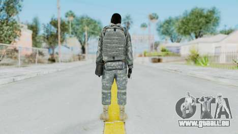 Acu Soldier 6 für GTA San Andreas dritten Screenshot
