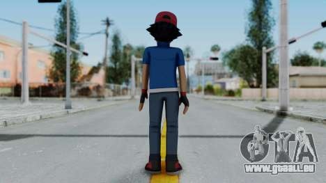 Pokémon XY Series - Ash pour GTA San Andreas troisième écran