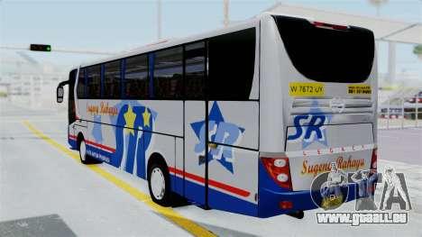 Laksana Legacy Hino AK8 Sugeng Livery pour GTA San Andreas laissé vue