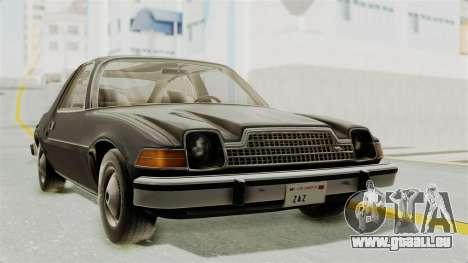AMC Pacer 1978 für GTA San Andreas