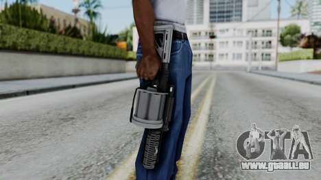 GTA 5 Grenade Launcher - Misterix 4 Weapons für GTA San Andreas dritten Screenshot