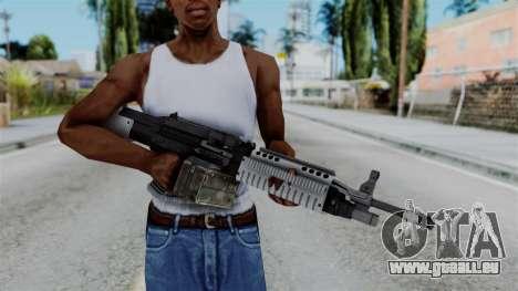 GTA 5 Combat MG - Misterix 4 Weapons für GTA San Andreas dritten Screenshot