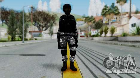 S.W.A.T v1 pour GTA San Andreas deuxième écran