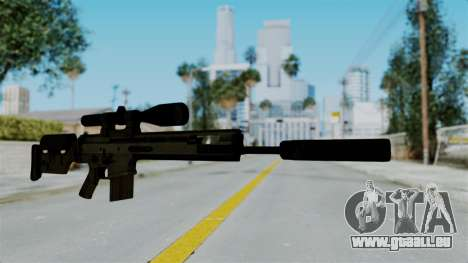 SCAR-20 v2 Supressor pour GTA San Andreas