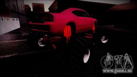 2006 Dodge Charger SRT8 Monster Truck pour GTA San Andreas roue