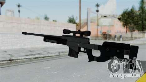 GTA 5 Sniper Rifle pour GTA San Andreas deuxième écran