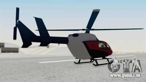 GTA 5 Super Volito Carbon pour GTA San Andreas laissé vue