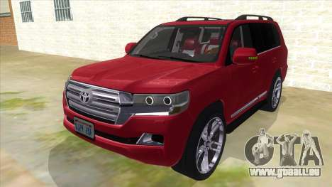 2016 Toyota Land Cruiser 200 V2 pour GTA San Andreas