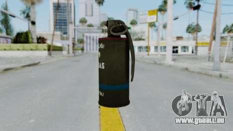 GTA 5 Tear Gas für GTA San Andreas zweiten Screenshot