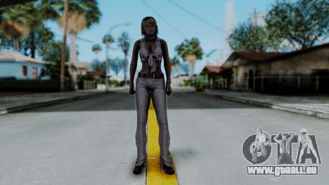 Resident Evil 4 Ultimate HD - Ashley Leather pour GTA San Andreas deuxième écran