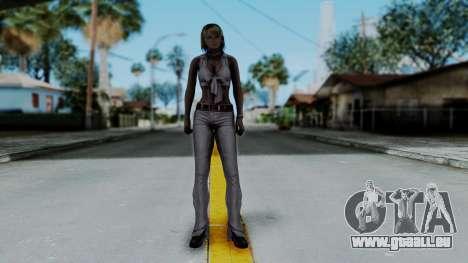 Resident Evil 4 Ultimate HD - Ashley Leather für GTA San Andreas zweiten Screenshot