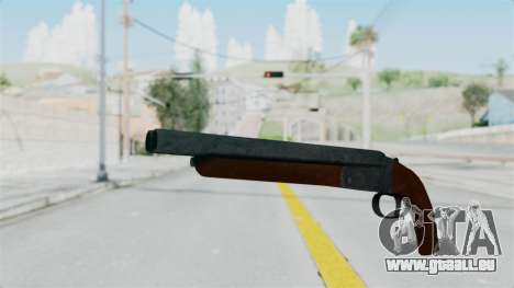 Double Barrel Shotgun from Lowriders CC pour GTA San Andreas