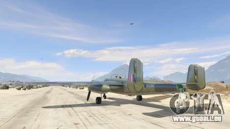 GTA 5 B-25 troisième capture d'écran