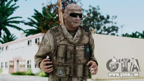 Crysis 2 US Soldier FaceB Bodygroup A pour GTA San Andreas
