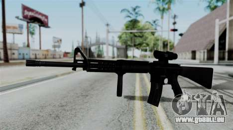 No More Room in Hell - M16A4 ACOG für GTA San Andreas zweiten Screenshot