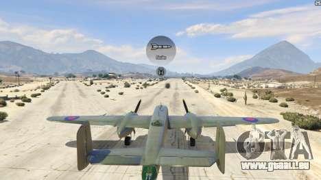 GTA 5 B-25 sixième capture d'écran