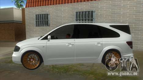 SsangYong Rodius 3.2 AT 2007 für GTA San Andreas linke Ansicht