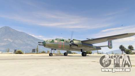 GTA 5 B-25
