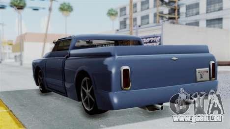 Augmentée. pour GTA San Andreas vue de droite