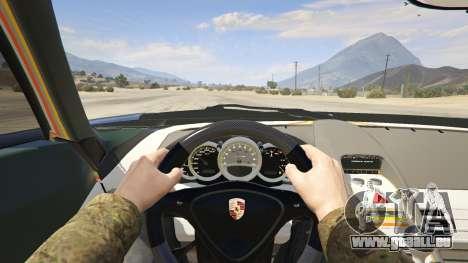 GTA 5 Porsche Carrera GT Rückansicht