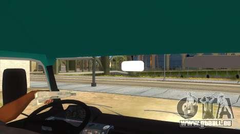 TAM 80 T50 1990 pour GTA San Andreas vue intérieure