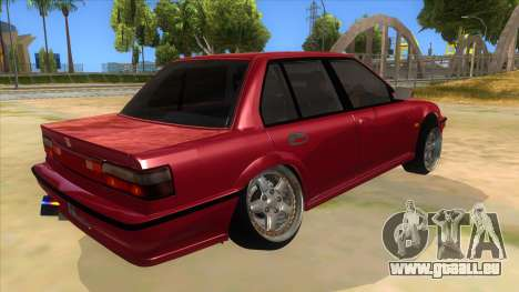 Honda Civic Ef Sedan für GTA San Andreas rechten Ansicht
