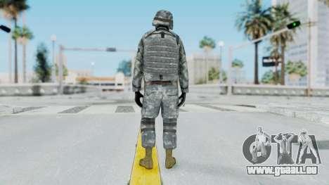 Acu Soldier Balaclava v4 pour GTA San Andreas troisième écran