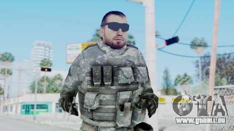 Acu Soldier 6 pour GTA San Andreas