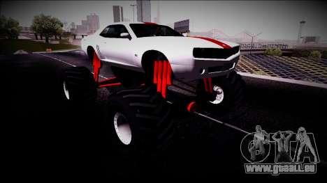 GTA 5 Bravado Gauntlet Monster Truck pour GTA San Andreas