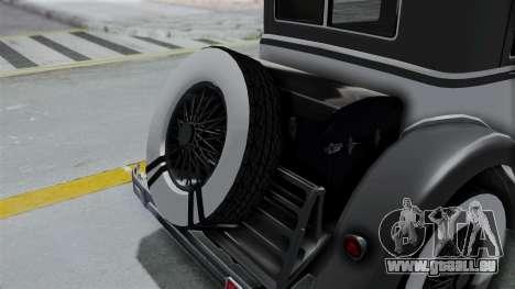 GTA 5 Albany Roosevelt Valor pour GTA San Andreas vue arrière