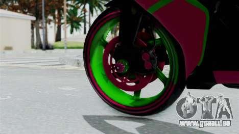 Yamaha R1 pour GTA San Andreas sur la vue arrière gauche